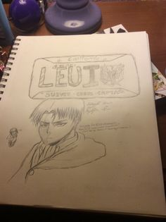 I did this for Art Class XD I drew Levi along cause Levi... And I just put Levi as the License plate number because why nawt lol