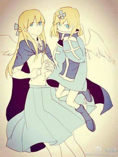Ciel and Chelan, outer science style