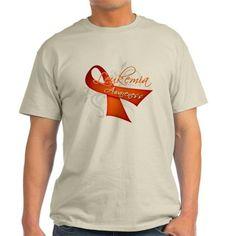 Leukemia Awareness T-Shirt on CafePress.com