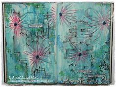 Art Journal Spread for challenge #67