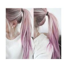 Warning These 20 Purple Hairstyles Will Make You Want to Dye Your Hair ❤ liked on Polyvore featuring beauty products, haircare, hair color and hair