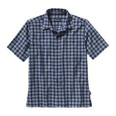 Patagonia Men\'s Puckerware\u00AE Shirt - Palaka: Channel Blue PACB - CHIP