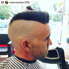 #FlattopFriday 🇬🇧 Repost @wilsonbarber1993 With @repostapp ・・・ Smashed  Out A #psychobilly #flattop Wicked Way To End The Day!!