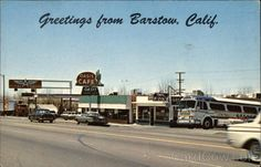 barstow california postcards | Greetings from Barstow, California