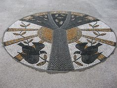 Botica's pebble mosaics
