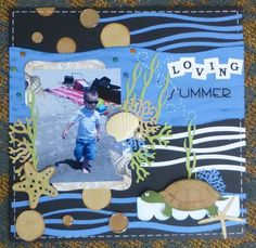 Scrapbook Loving summer