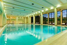 Tis the season for beautiful indoor pools... like the lovely oasis at Park Hyatt Baku!