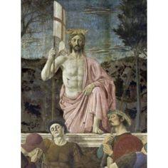 Resurrection of Christ (Detail) Piero della Francesca (141020-1492 Italian) Fresco Civic Museum Sansepolcro Italy Canvas Art - Piero della Francesca (24 x 36)