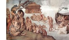 Sistine Chapel Facts: Michelangelo and the Popes Who Created the Masterpiece of Western Art Michelangelo Sculpture, Michelangelo Paintings, Italian Renaissance Art, Renaissance Kunst, Miguel Angel, Images Bible, 4 Images, Ap Art History 250, Sistine Chapel Ceiling