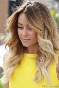 Lauren Conrad - Long Dark Blonde to Platinum Ombré