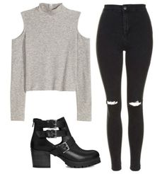 outfit and Polyvore afbeelding