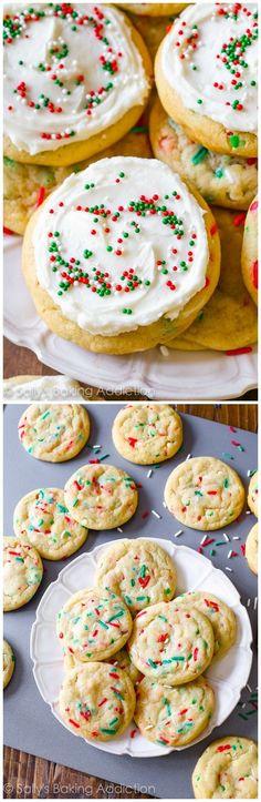 Christmas Funfetti Cookies Supreme