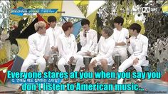 Pretty much. But in this picture they're just staring at the beauty that is Sungjong