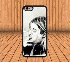 Nirvana Kurt Cobain for iPhone 5/5S/SE Hard Case Cover  #designyourcasebyme