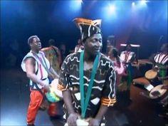 Mamady Keita avec les maitres de la percussion - Mamady Keita and percussion masters