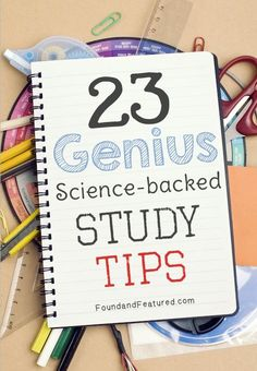 Study tips and tricks to help ace a test! Need this now that grad school is in full swing.