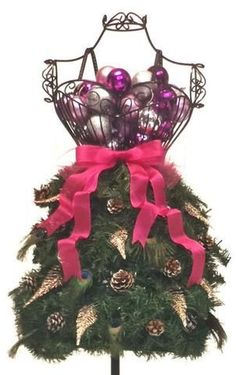 552569facd33 #DressForm Christmas tree -Whether you want to DIY or buy one pre-made
