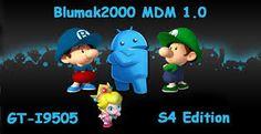 Blumak2000 MDM 1.0 S4 EDITION Rom Samsung Galaxy S4 batteria e fluidità migliorata