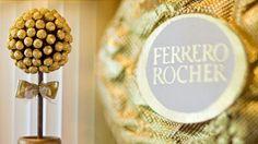 Einen eigenen Ferrero Rocher Schokoladen Baum zu machen ist nicht schwer wie in diesem Video zu sehen.