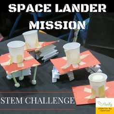 Last year, I started a new Space Club program at four middle schools. Not wanting to reinvent the wheel, I searched the web for ideas and curriculum to implement. I soon became excited to find great resources like NASA and TeachEngineering Space Activities For Kids, Steam Activities, Space Crafts Kids, Science Club Activities, Moon Activities, Scout Activities, Camping Activities, Camping Tips, Summer Activities