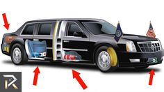 Presidential limousine, armor, weapons and details about the Beast Cadillac - Autoweek General Motors, Barack Obama, Donald Trump Facts, Car Facts, Mind Blowing Facts, Automotive News, Cool Inventions, Limo, Us Presidents