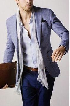 Informal business attire.......