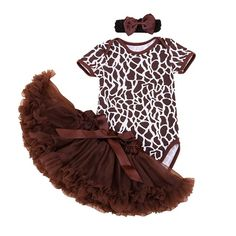 Fair price Brown The Deer Print Baby Girl Summer Clothes Ropa De Bebe Bodysuit Lace Skirt Headband Newborn Tutu Sets Girls Clothing Sets just only $14.30 with free shipping worldwide  #babygirlsclothing Plese click on picture to see our special price for you