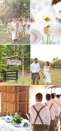 Nashville Farm Wedding by Brocade Designs | Style Me Pretty