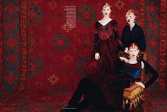 Take a trip on The Collections by Erik Madigan Heck for Harper's Bazaar UK August 2015