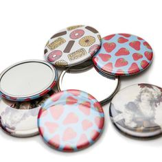 58mm Pocket Mirrors - Awesome Merchandise