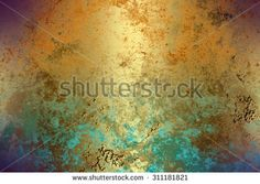 Colorful golden abstract   background , with   painted  grunge background texture for  design . - stock photo