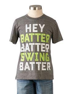 Hey Batter Tee - New Arrivals - boys   Peek Kids Clothing