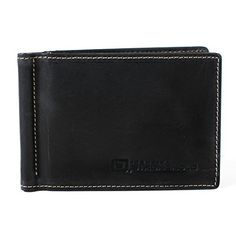 Rustico Handmade - Leather Money Clip, Dark Brown