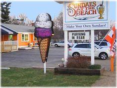 Sundaes At The Beach, Wells, Maine, Ice Cream in Southern Maine, Ice Cream in Maine