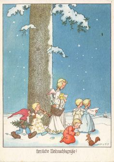 WEIHNACHTEN - Engelchen, Zwerg und Eichhörnchen - HAUFF, 1940 | eBay