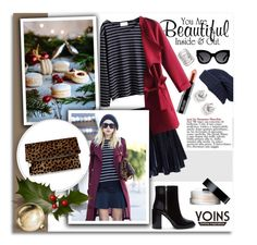 """""""Shop - Yoins"""" by melissa-de-souza ❤ liked on Polyvore featuring Forever 21, WithChic, Lord & Berry, Karen Walker, Treasure & Bond, SUQQU, Clare V. and yoins"""