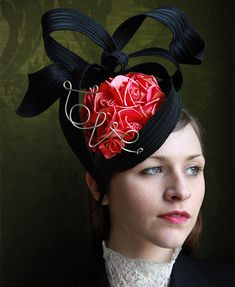 brilliant!  GUIBERT Millinery, Perfect Day For Whoever Collection #millinery #judithm #hats