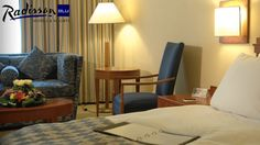 50% off 1 Night Stay in a Junior Suite + Breakfast & Valentine's Dinner for a Couple at Radisson Blu Martinez Hotel ($281)