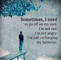 Quiet moments needed!