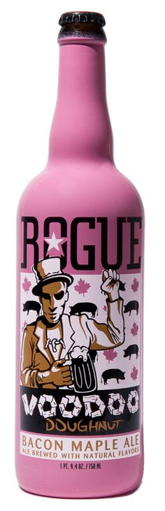 Rogue Voodoo Doughnut Bacon Maple Ale 750ml Bottle