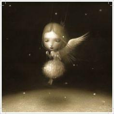 La Marelle `Kaart Nicoletta Ceccoli Angelic`