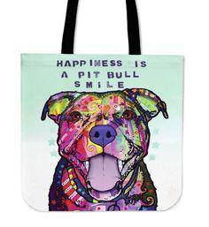 Pit Bull Tote Bags Series I