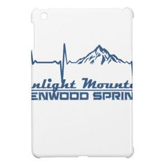 Sunlight Mountain Resort  -  Glenwood Springs - Co iPad Mini Case - spring gifts style season unique special cyo