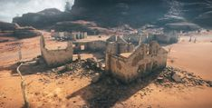 ArtStation - Mad Max - Environment Art, Jun Shimoda