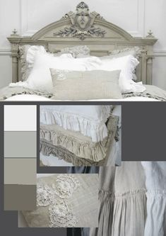 Taupe and grey.  Ohhhhh!!!  That's how you can make grey and taupe work together!  @Kathryn Whiting needs this.