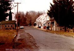 Centralia Pennsylvania Then and Now Photography - Results of the Mine Fire
