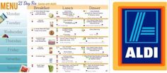 Affordable 21 Day Fix Weekly Menu with ALDI (1,200 – 1,499 Calorie Plan)