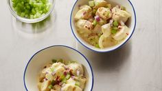 Two classics come together for a salad that combines the tangy, creamy appeal of deviled eggs with the satisfying heft of potato salad.