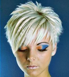 amazing short spiky hairstyles for women