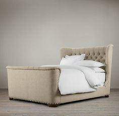 Churchill Upholstered Bed 72 fabrics, 10 leathers